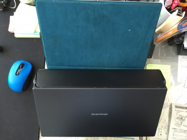 ScanSnap iX500 Surfaceとの比較2